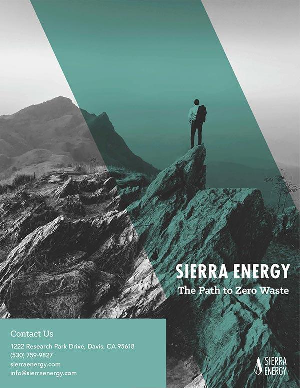 Sierra Energy Corporate Brochure