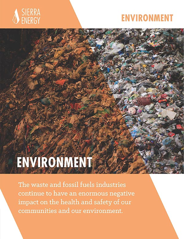 Sierra Energy Environment Brochure